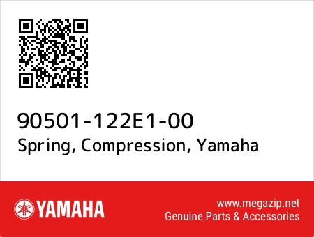 Spring, Compression, Yamaha 90501-122E1-00 oem parts