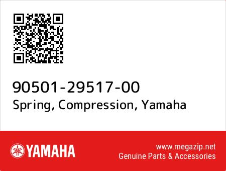 Spring, Compression, Yamaha 90501-29517-00 oem parts