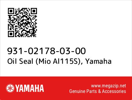 Oil Seal (Mio Al115S), Yamaha 931-02178-03-00 oem parts