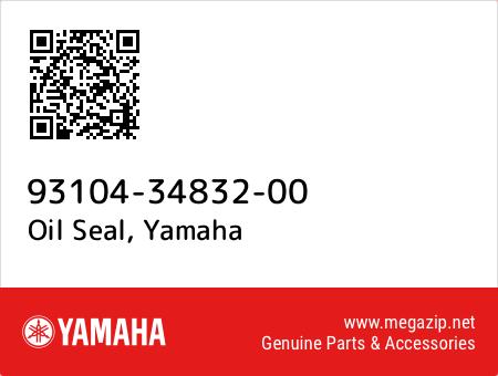 Oil Seal, Yamaha 93104-34832-00 oem parts