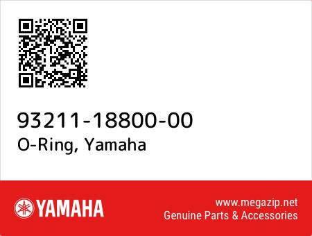 O-Ring, Yamaha 93211-18800-00 oem parts