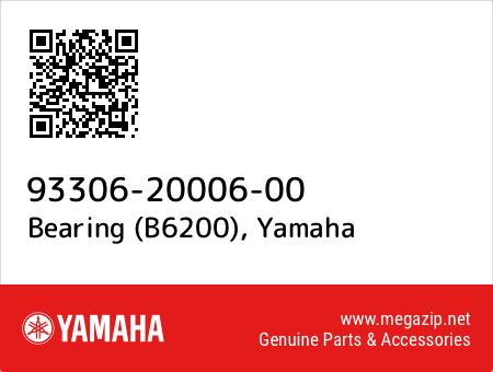 Bearing (B6200), Yamaha 93306-20006-00 oem parts