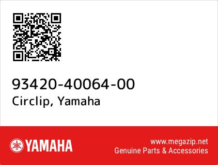 Circlip, Yamaha 93420-40064-00 oem parts