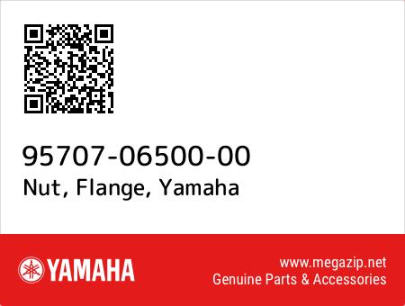 Nut, Flange, Yamaha 95707-06500-00 oem parts