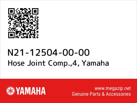Hose Joint Comp.,4, Yamaha N21-12504-00-00 oem parts