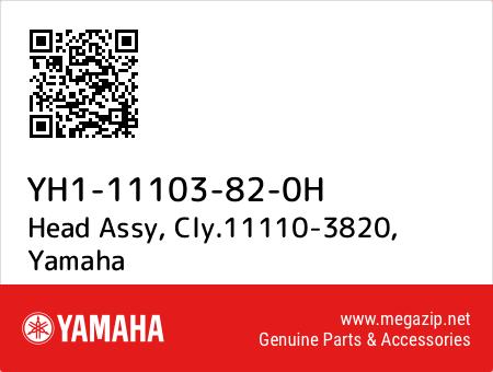 Head Assy, Cly.11110-3820, Yamaha YH1-11103-82-0H oem parts