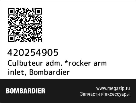 Culbuteur adm. *rocker arm inlet, Bombardier 420254905 запчасти oem