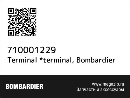 Terminal *terminal, Bombardier 710001229 запчасти oem
