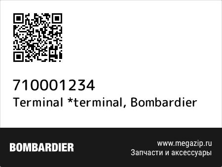 Terminal *terminal, Bombardier 710001234 запчасти oem