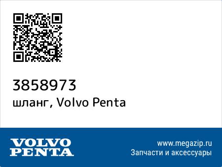 шланг, Volvo Penta 3858973 запчасти oem