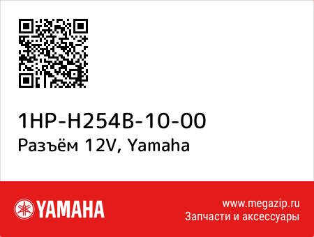 Разъём 12V, Yamaha 1HP-H254B-10-00 запчасти oem
