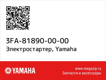 Электростартер, Yamaha 3FA-81890-00-00 запчасти oem